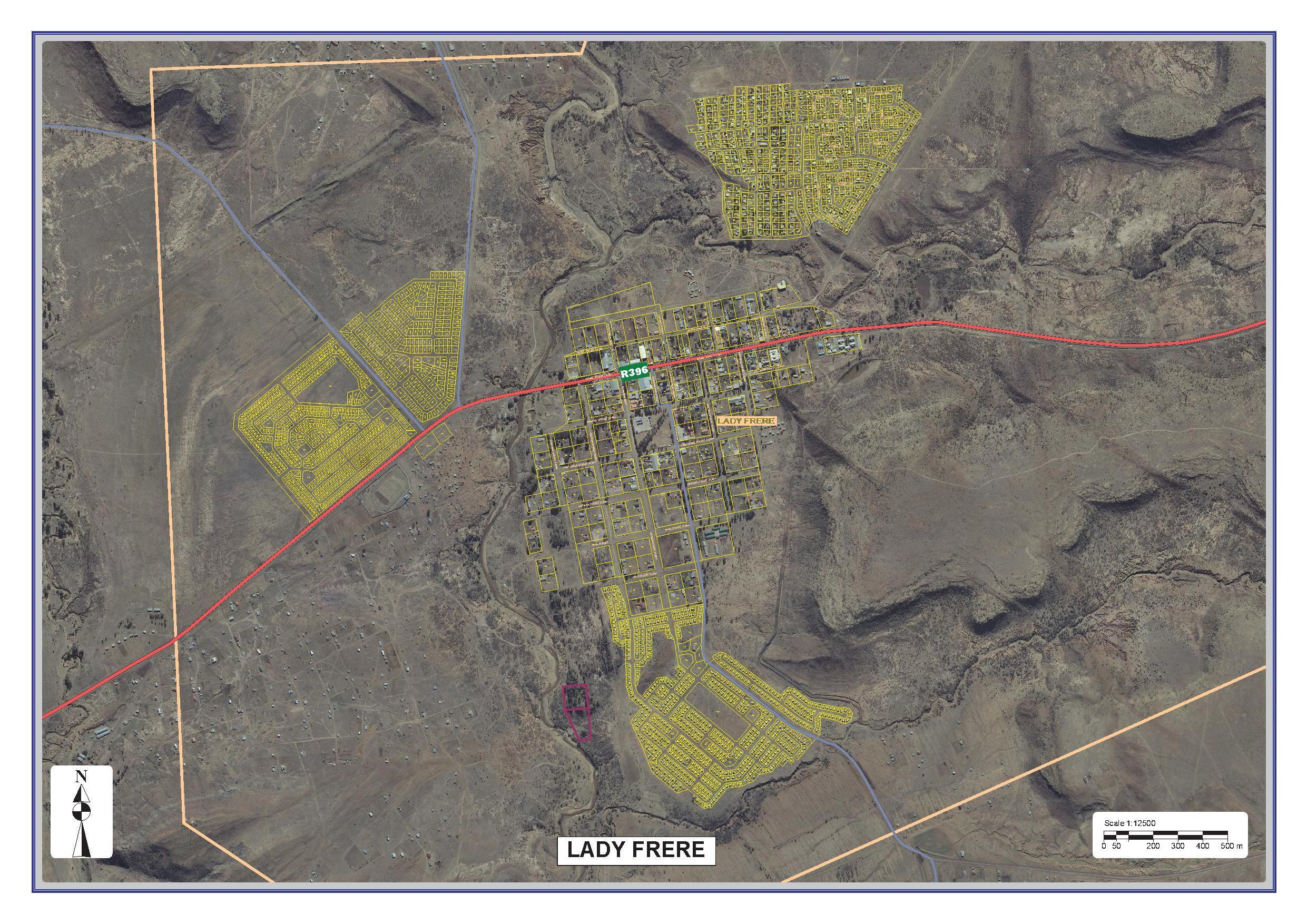 Emalahleni Locality Map